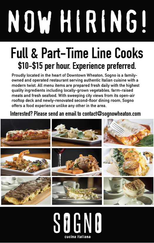Sogno is hiring